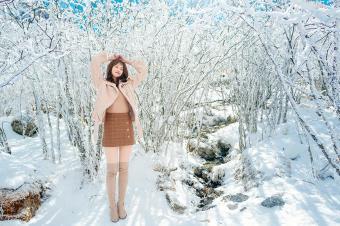 新宝骏530冰川游记:雪的样子,冰会记得