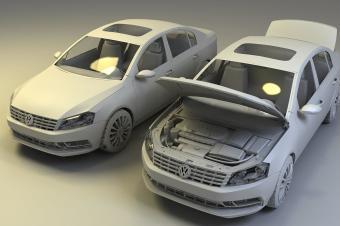 大众首造3D打印生产线:三年内实现零部件生产
