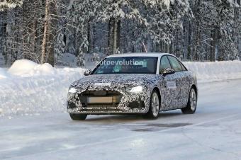 改用新家族设计 新款奥迪A4或明年9月法兰克福车展发布