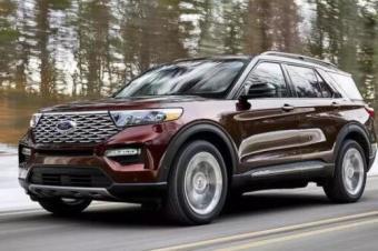 年内引入国产50万降到30万,福特全新探险者目标锁定丰田霸道