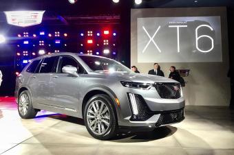 重磅:凯迪拉克SUV新旗舰XT6底特律首发