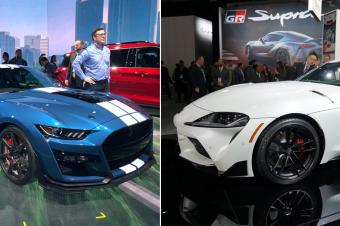 丰田Supra和谢尔比GT500,上演美日国民梦想之车的对决