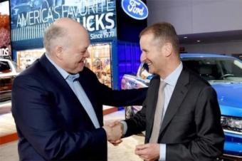 大众、福特建立纯洁革命友谊 一起生产商用车和皮卡
