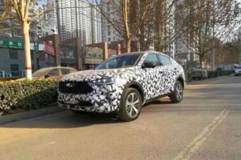 哈弗轿跑SUV,哈弗F7x路试谍照曝光,年内上市
