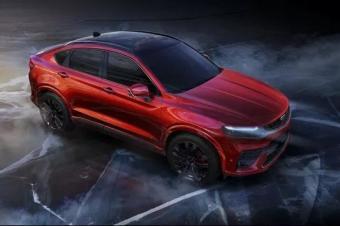"""吉利首款轿跑SUV即将推出,外形酷似""""宝马X6"""""""
