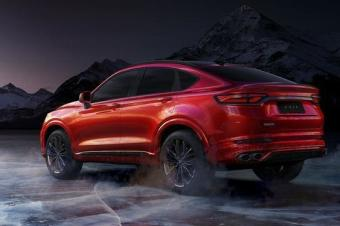 吉利首款轿跑SUV来了,源自沃尔沃平台,性能不输宝马X4?