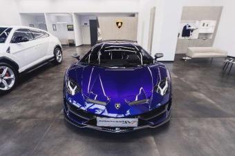 兰博基尼V12超级跑车家族的极致巅峰