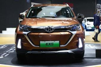 又一款紧凑型SUV,北汽EX5开启预售,补贴后18.88万起