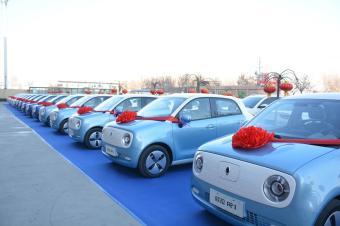 欧拉R1刚上市就迎来千台交车,实力引领精品电动小车市场