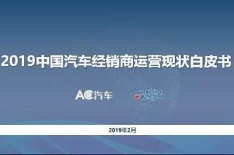 调研报告丨2019年汽车经销商生存指南(附完整报告)