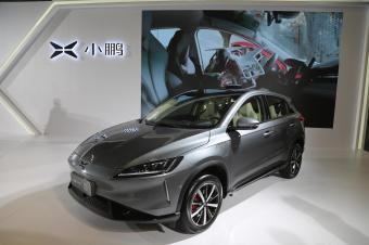 小鹏汽车G3 纯电SUV,中国造车新势力重磅车型实拍!