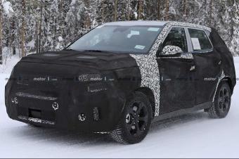 起亚SP概念车打造 全新SUV车型路试谍照曝光