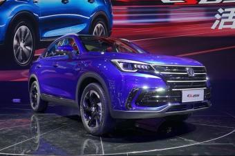 最美国产轿跑SUV 长安CS85将于3月6日上市