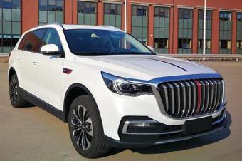 红旗首款中大型SUV将上市 轴距超3米 搭3.0T+8AT