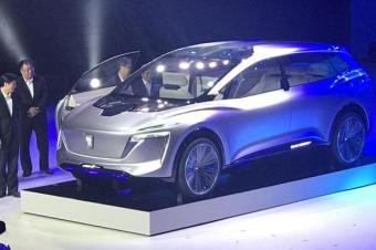 荣威vision-i,5g汽车+自动v汽车,这是未来网络?乐驰1.0发动多大图片