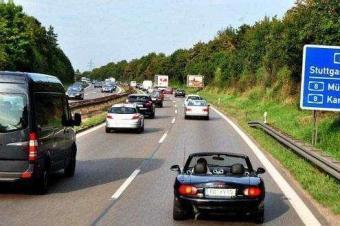 德国高速拟定限速350km/h?车主:淡定!超速扣分算我的