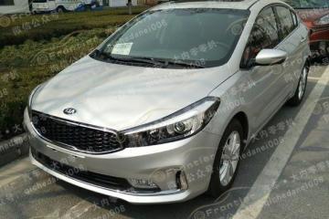 新增1.4T动力 中期改款起亚K3北京车展亮相