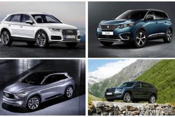欧洲市场也已沦陷 看巴黎车展最新爆款SUV