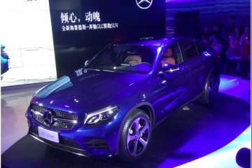 奔驰全新轿跑SUV上市 售49.6-63.8万元