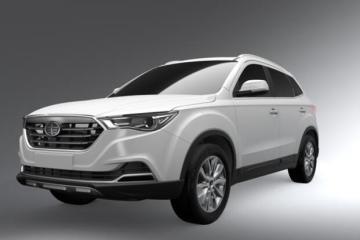 进入小型SUV市场 一汽奔腾X40效果图曝光