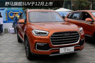 """野马旗舰SUV于12月上市 采用""""奔驰""""内饰"""