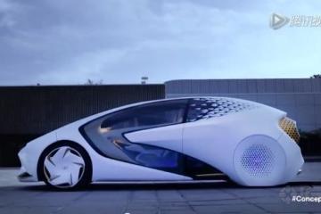 丰田AI系统电动汽车亮相CES 5级的自动驾驶-易起说 易车网 第13677页高清图片