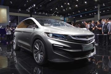 吉利概念车抢风头,上海车展MPV车型盘点