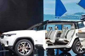 从硬派到性感!未来Jeep的车长这样儿!