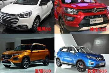 7万元预算,这四款小型SUV你会选谁?