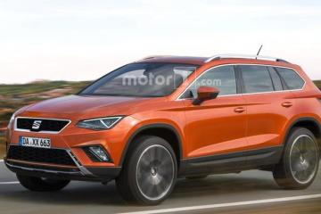 大众廉价版七座SUV 西雅特最新假想图发布