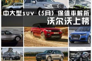 国内最好的10款中大型SUV,得其一便满足