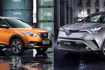 谁是小型SUV王者?日产劲客 VS 丰田C-HR