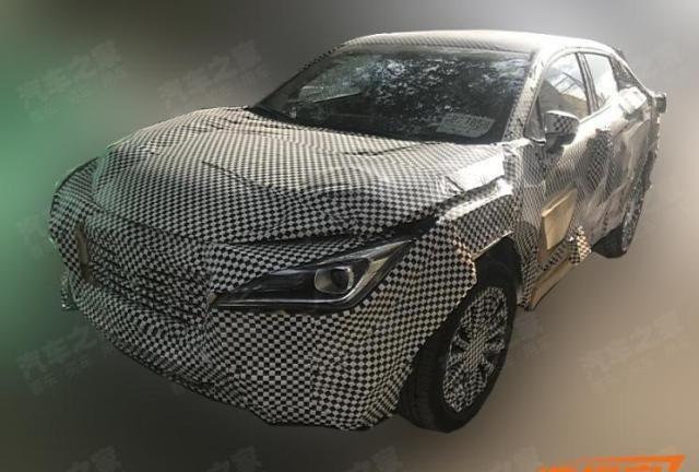 采用运动化车身设计,长安轿跑SUV再添新丁