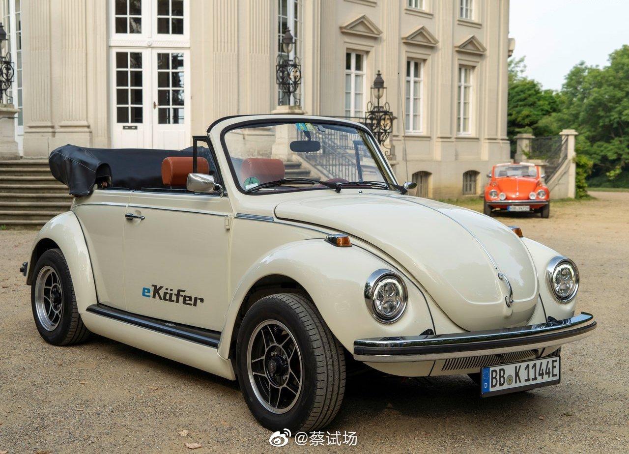 大众e-Beetle电动概念车发布