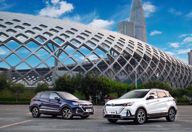 推荐一款适合老师开的车\全智能长续航纯电SUV\北汽新能源EX5