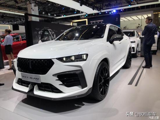 2019法兰克福车展上,魏派wey-gtpro正式首发