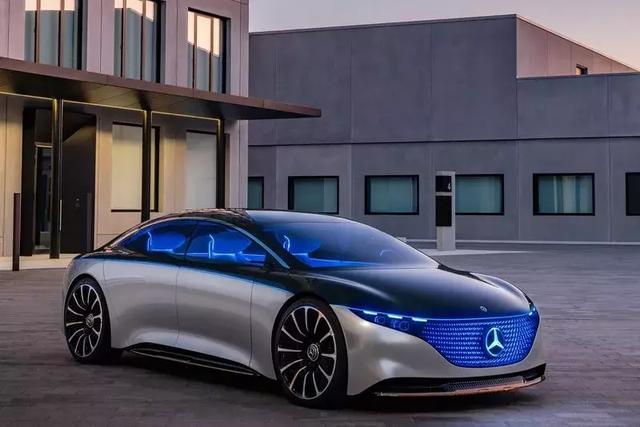 引领电动豪华轿车发展方向奔驰VisionEQS概念车发布