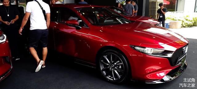 马自达海外推新款马自达3 Speed车款,非纯正MPS系列,千万别激动