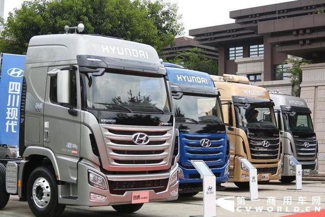 携氢燃料重卡参展进博会现代商用车在中国要放大招?