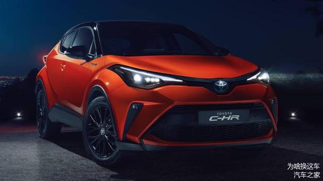 将于10月18日正式发布,丰田新C-HR小改款来了