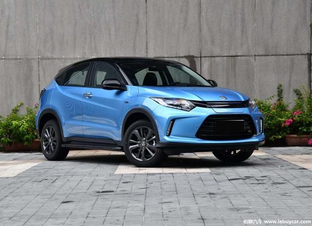 纯电动小型SUV广汽本田新款理念VE-1或将21日上市内外配置提升