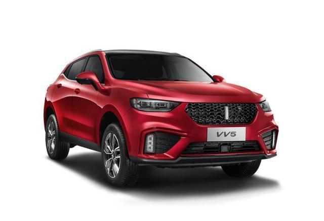 三天后上市,2020款VV5即将到来,国产豪华SUV入门车再次更新