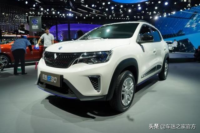 启辰e30将于10月22日正式上市补贴后预售价为7-8万元