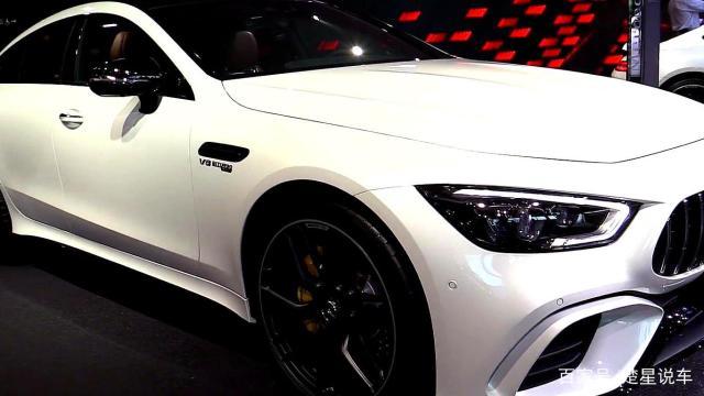 实拍:2020新款奔驰AMG GT63S,不是一般的霸气!
