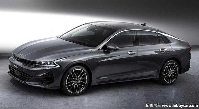 全新起亚K5官图发布展示时尚车身外观计划12月在韩国上市