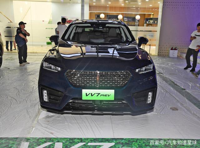 实拍VV7 PHEV,最高227马力,将于广州车展上市