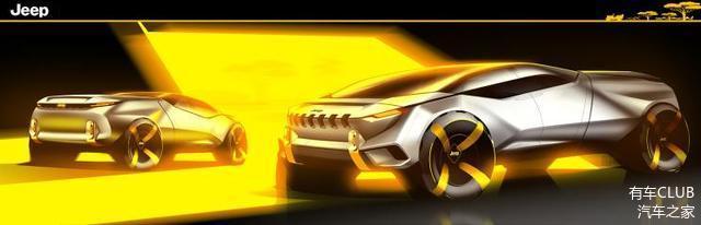 未来战车既视感 Jeep全新概念皮卡Cottoni设计图曝光