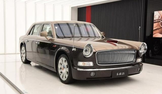 全新红旗L5,车长超5米5,轴距超3米4,中国劳斯莱斯比丰田世纪强