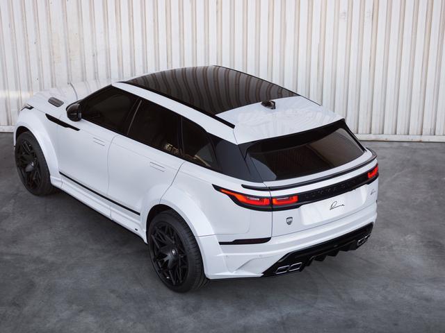 Lumma Design改装的奔驰G级、奥迪Q8、宝马X7和路虎揽胜星脉