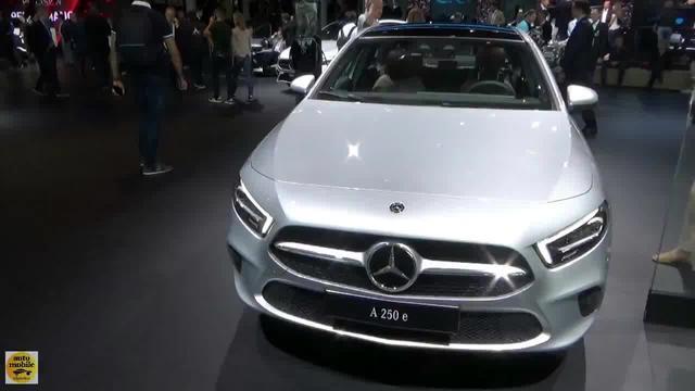 2020款全新奔驰A 250e,颜值高又经济!新生代豪华家用车